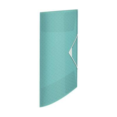 Gumis mappa ESSELTE Colour`Ice A/4 15mm PP kék