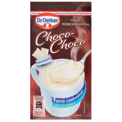 Forrócsokoládé instant DR OETKER Choco-Choco fehércsokoládés 34g