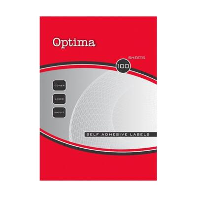 Etikett OPTIMA 32083 64,6x33,8mm 2400 címke/doboz 100 ív/doboz