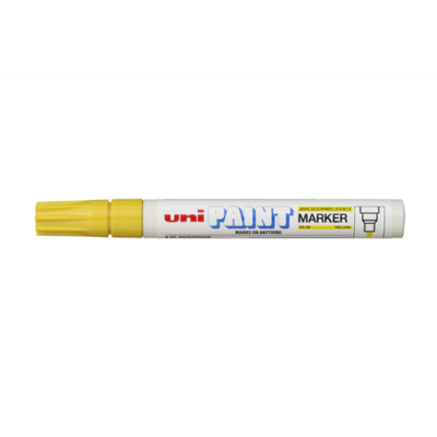Lakkmarker UNI PX-20 2,2 - 2,8mm sárga