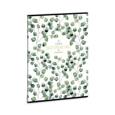 Füzet ARS UNA A/4 40 lapos Extra kapcsos kockás Botanic Leaf
