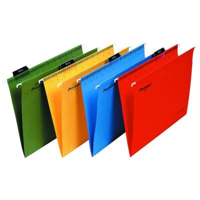 Függőmappa ESSELTE Classic A/4 újrahasznosított karton zöld 25 db/doboz