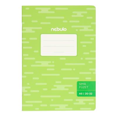 Füzet NEBULO basic+ A/5 32 lapos sima 20-32