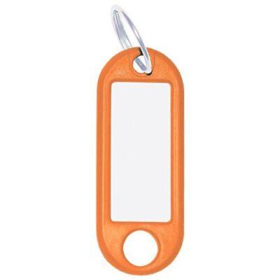 Kulcsjelölő biléta WEDO 10db-os narancs