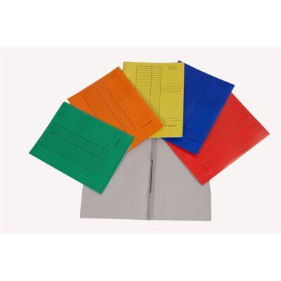 Gyorsfűző CLARISSA papír kék