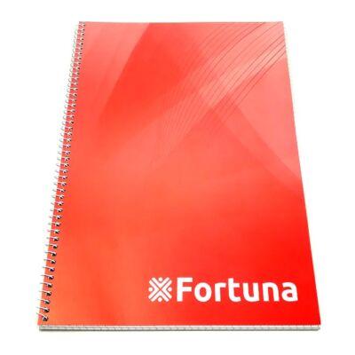 Spirálfüzet FORTUNA Basic A/5 70 lapos kockás